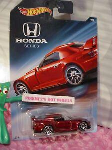 Honda S2000 2018 >> Details About Honda S2000 7 8 Metallic Red 10s 2018 Hot Wheels Honda Series Walmart Exclusive
