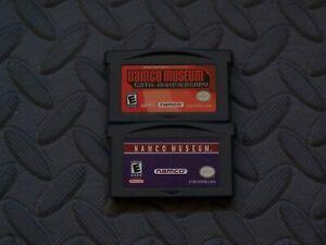 Lot Nintendo Game Boy Advance GBA Games Namco Museum 50th Anniversary, Namco