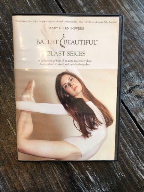 3d0603df5d09 Ballet Beautiful Classic 60-Minute Workout Mary Helen Bowers Burn BLAST  SERIES