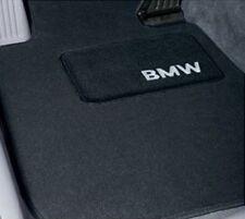 BMW Black Carpeted Floor Mats w/Heel Pad 2007-2013 328i 335i Coupes 82112293530