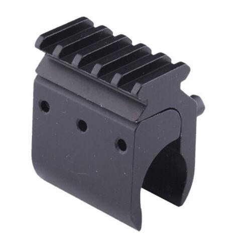 New Hunting 20mm Weaver Picatinny Rail Base Adapter Mount Scope Converter Black
