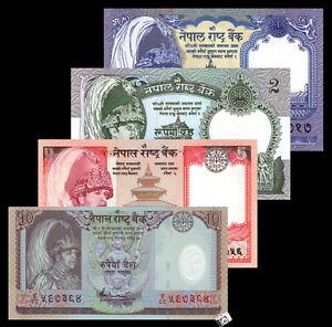 NEPAL SET 2 PCS 5 10 RUPEES 2012 P 69 70 DEAR YAK UNC