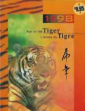 Hong Kong /China /Canada Stamps -Thematic Collection -1998, Year of theTiger MNH