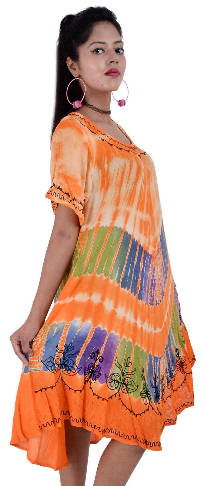 Wevez New Women's Short Sleeve Tunic Summer Dress 10 Pcs Lot