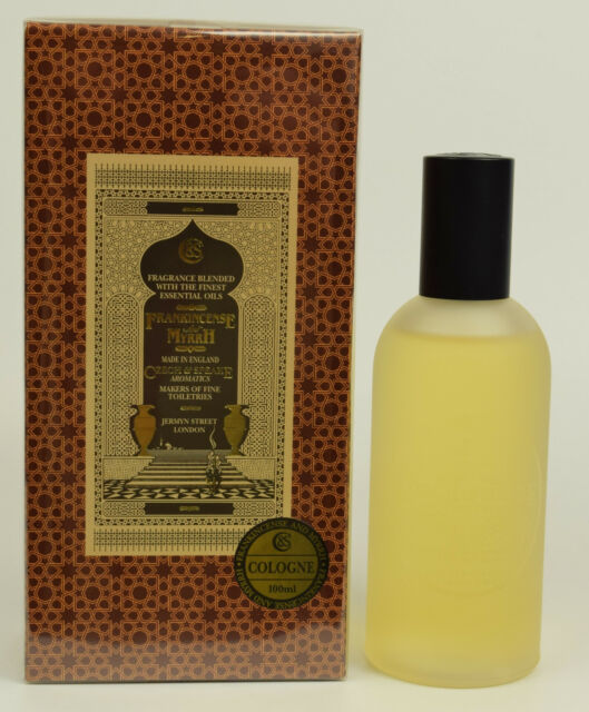Frankincense & Myrhh by Czech & Speake 100ml Eau De Cologne EDC Spray  NEW