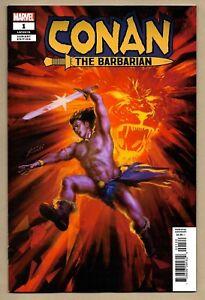 Details about Conan The Barbarian (2018)_#1 1st Print_Fagan_NM+ 9 6+_Aaron  Asrar Ribic_Marvel