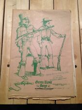 GREEN RIVER FORGE MILITARY OBERALLS OR BUCKSKIN BREECHES PATTERN