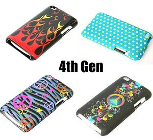 For-Apple-iPod-Touch-4th-Generation-HARD-SNAP-ON-PROTECTOR-SKIN-CASE-COVER