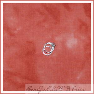 BonEful-Fabric-FQ-Cotton-Quilt-S-Salmon-Rose-Tea-Dye-Tone-Texture-Marble-Blender