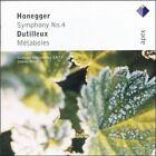 Honegger: Symphony No. 4; Dutilleux: Metaboles (CD, May-2006, Apex (UK))