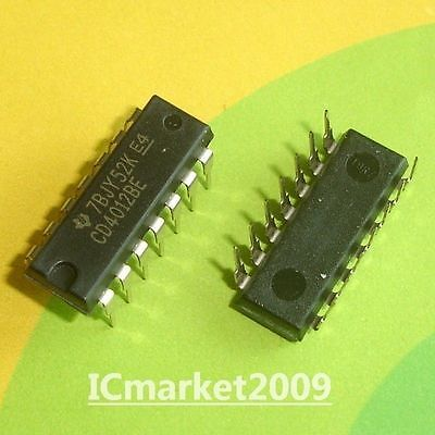 1-10pcs CD4012 BE CMOS IC