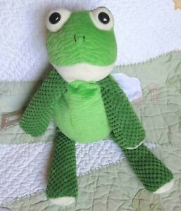 Scentsy-Buddy-Ribbert-Frog-Green-Plush-Stuffed-Toy-No-Scent-Pack-EUC