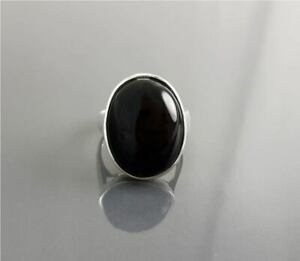 Black Onyx Ring 925 Sterling Silver Ring Handmade Ring Worry Ring All Size KA-47