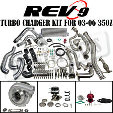 Rev9 Complete Bolt On T3 60 1 Turbo Charger Kit Fits 03 06 350z Z33g35 Vq35de