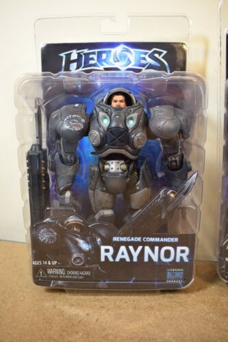 GENUINE Neca HEROES OF THE STORM Series 3 SYLVANAS /& RAYNOR Action Figures
