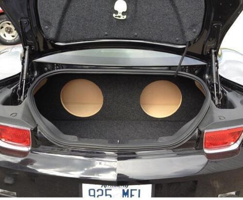 "4 8/"" Subs For a 2012-2015 Chevy Camaro Custom Sub Box Subwoofer Enclosure"