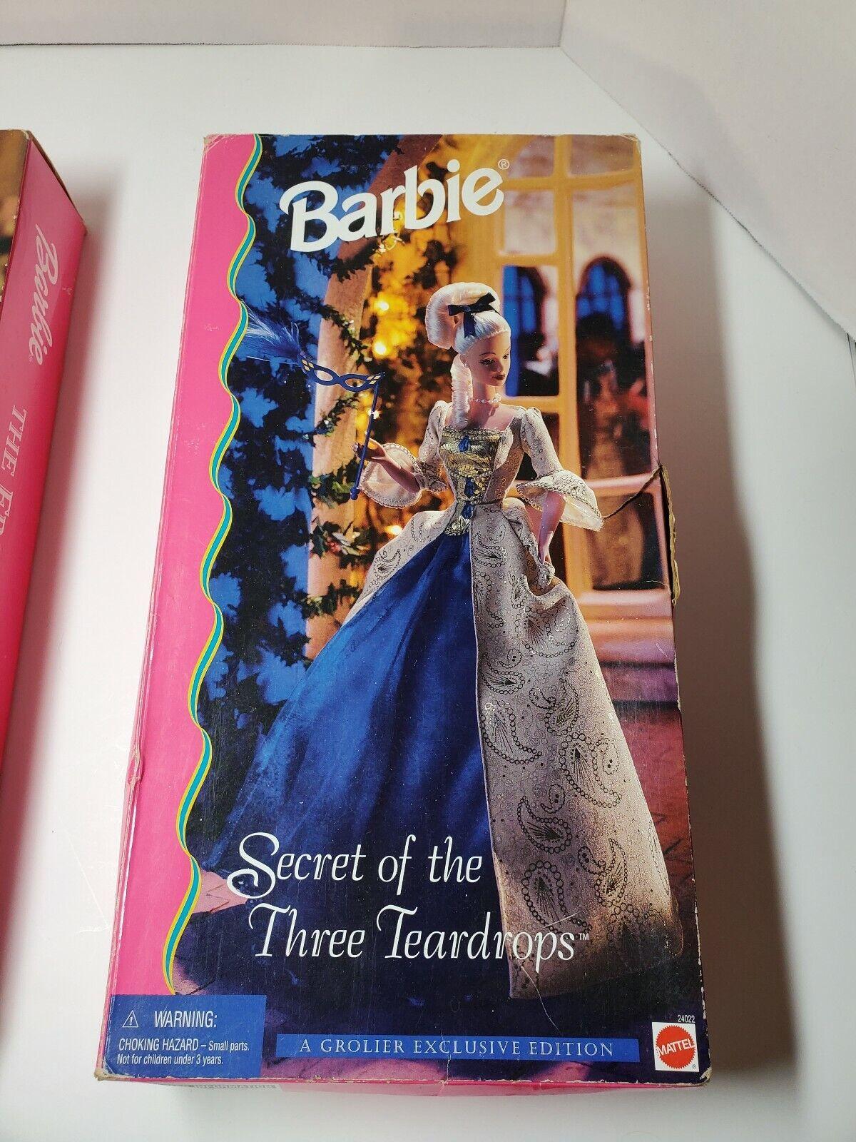 BARBIE THE SECRET OF THE THREE TEARDROPS