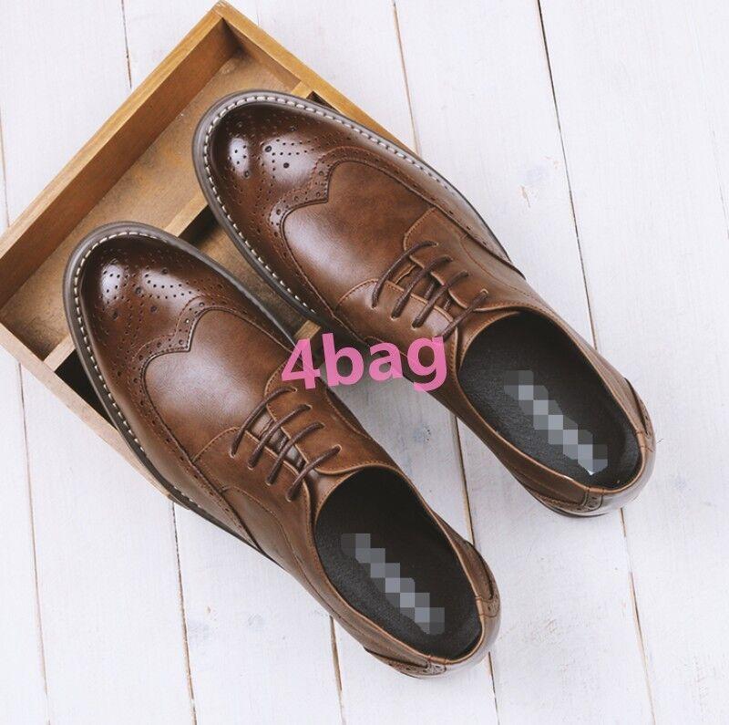 Stile britannico CALATA Scarpe Da Uomo Business Vestito Casual ALA Tip Scarpe Lacci SZ Scarpe classiche da uomo