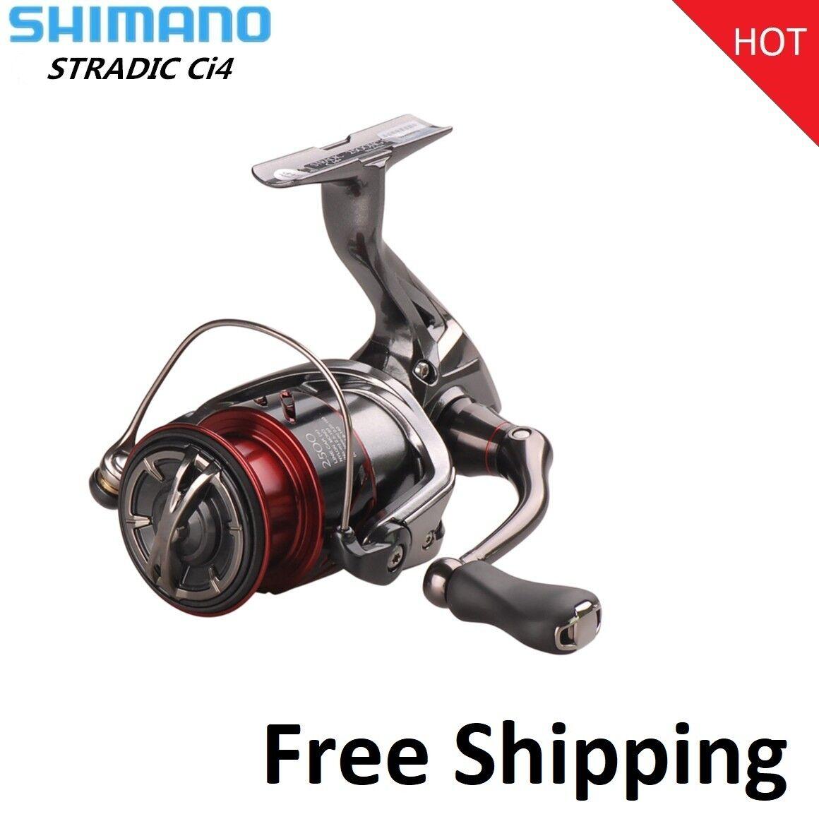 Cocherete Shimano Stradic CI4+ Hagane 1000 Hg 2500 Hg C3000HG 6.0  1 Pesca Spinning
