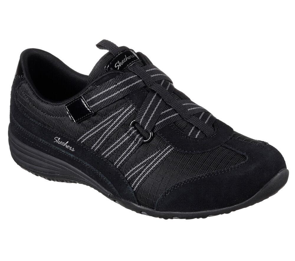 NUOVO Skechers da donna Sneakers Turn foam Scarpa Slip on memory foam Turn Unity c'è nero 292547