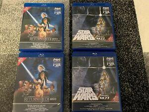 Star-Wars-Ep-4-5-6-Single-OR-Double-sets-on-Blu-Ray-amp-1977-4K77-4K83-UHD-4K