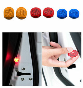 Magnetico-3LED-Lampada-Per-Auto-Porta-Induzione-Avvertimento-Luce-Lampeggiante