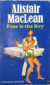 Fear-is-the-Key-by-Alistair-MacLean-vintage-paperback-1968-action-revenge-Mexico