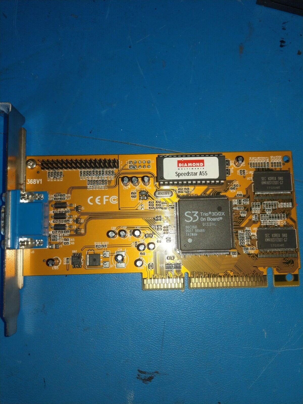 Diamond Speedstar A55 8MB AGP Graphics Card- DISPEEDV55B *C8