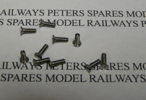 Triang Hornby SC1026 Loco Cylinder Screw Ivaat Body Screws 08 /& Dock Shunter