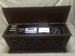 1970-039-s-Vintage-Capehart-AM-FM-Stereo-Radio-Record-Phonograph-8-Track-Console