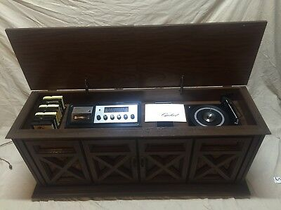 1970 S Vintage Capehart Am Fm Stereo Radio Record