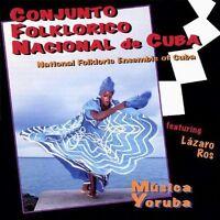 Conjunto Folklorico Nacional De Cuba - Musica Yoruba [new Cd] on Sale