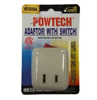 Single Outlet With Switch Power On/off Control Adapter 1pk