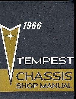 1966  66  PONTIAC TEMPEST//GTO SHOP MANUAL