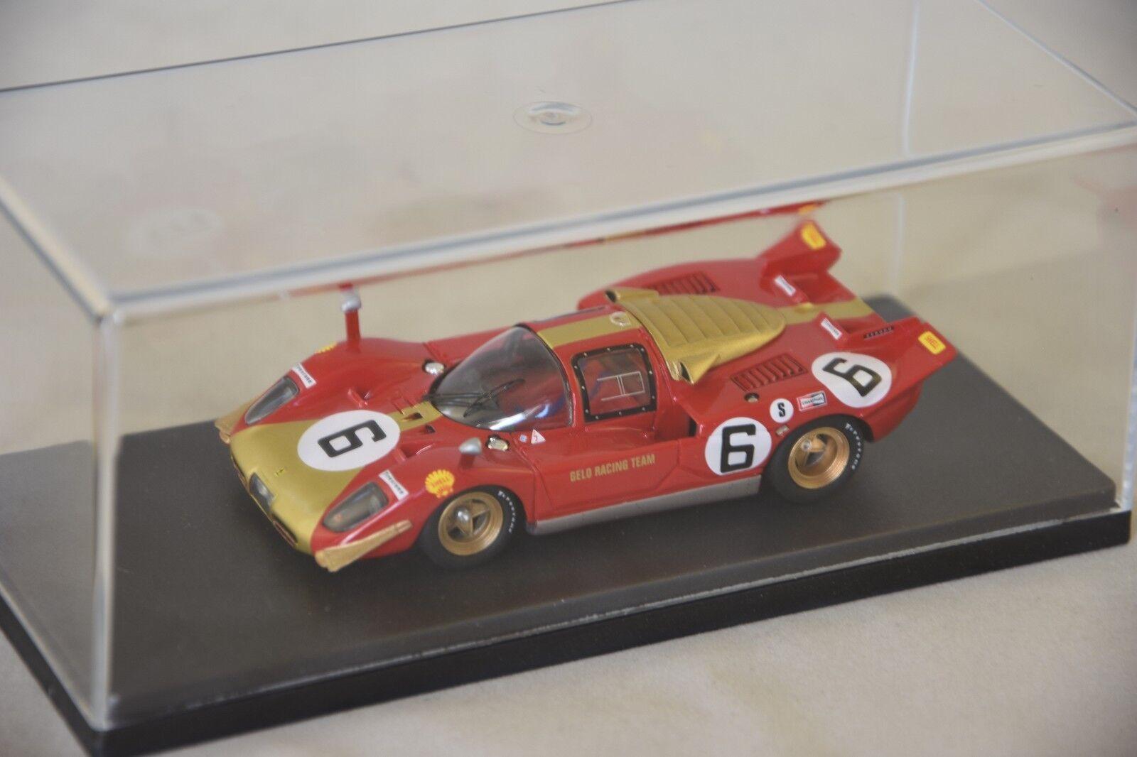 MG MODEL 512S50 - Ferrari 512S 1000Km Monza 1970 N 6 Pesch DNQ  /43