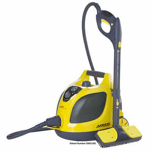 Vapamore Mr 100 >> Vapamore Mr 100 Yellow Gray Canister Cleaner For Sale Online Ebay