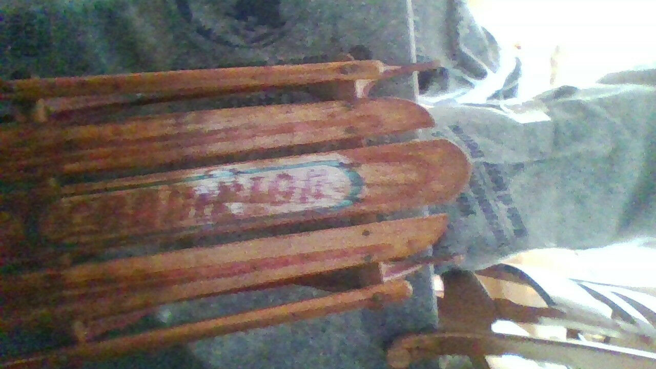 Antique 05 Champion Snow Sled - Early 40's LARGE 56 INCH BEAUTIFUL CONDITION