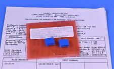 Precision Matched Pair Reference Standard Capacitors 22000uf 002 Tolerance