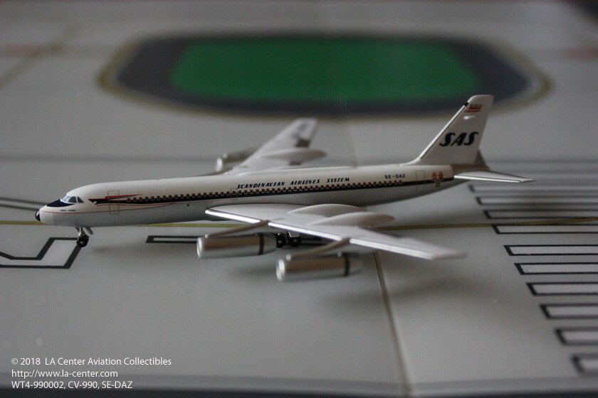 Witty Wings Scandinavian SAS GD GD GD Convair 990 in Old color Diecast Model 1 400 419ef0