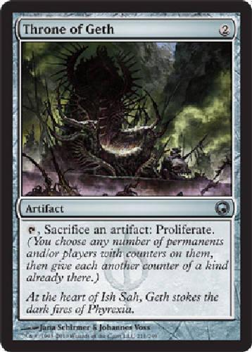 7 available Throne of Geth NM SOM MTG