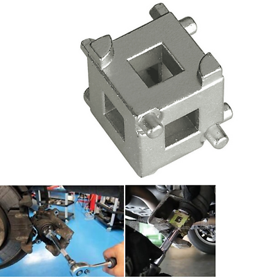"1Pc Rear disc brake caliper piston rewind//wind back cube tool 3//8/"" drive too  zh"