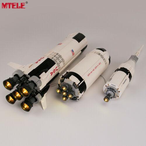 LED Light Up Kit For 21309 The Apollo Saturn V Launch Lighting building blocks