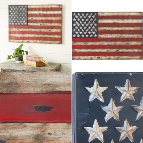 "38/"" X 26/"" American Flag Rustic Wall Art,Wrought Iron Wall Decor"