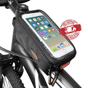 Ibera Bike Top Tube Bag Cycling Frame Front Pouch Bicycle Phone