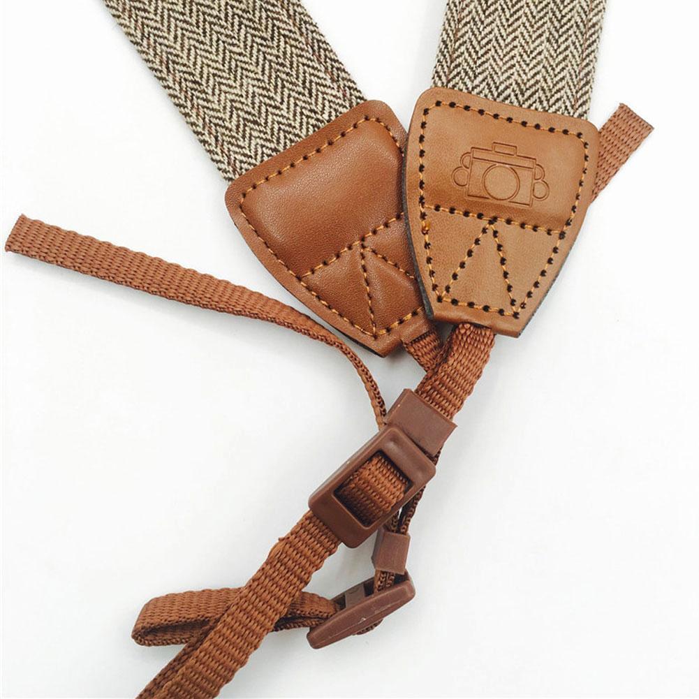 Hot Sale Camera Shoulder Neck Vintage Strap Belt for Sony Nikon Canon Camera vOI 8