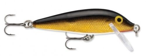 """Rapala Count Down CD07-G Gold 2 3//4/"""" 1//4 oz CountDown Lure"""