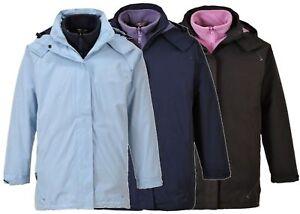 Portwest S571 Elgin 3 in 1 Ladies Jacket Waterproof Coat
