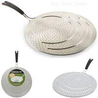 Splatter Screen Guard Pan Cover Kitchen Frying Fits 8 10 12 Inch Pans Calphalon