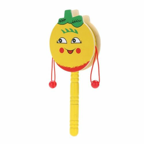 Baby Shaking Rattle Kids Wooden Hand Drum Shaking Rattle Party Toy Children Gift