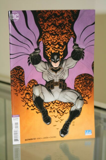 DC COMICS BATMAN #50 ARTHUR ADAMS VARIANT COVER (rebirth)